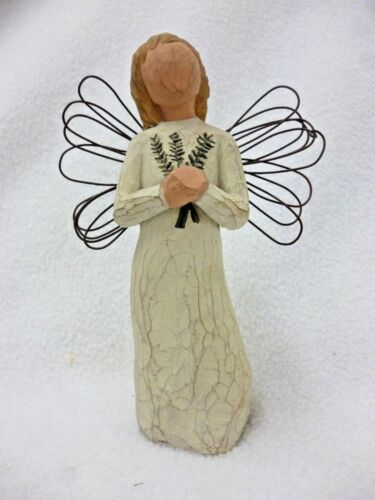 WILLOW TREE  ANGEL OF REMEMBRANCE 2001 DEMDACO, SUSAN  LORDI NO BOX