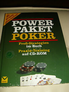 POKER POWER PAKET BUCH UND CD-ROM PROFI-STRATEGIEN PRAXIS-TRAINING