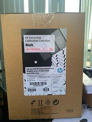 Hp Indigo Electroink Calibration Black Q4137b For Press 6000 7000