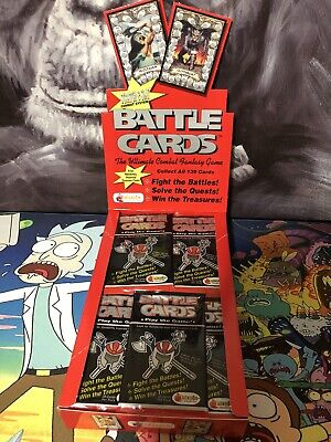 Merlin Battle Cards Booster Pack X1 TCG Collectible