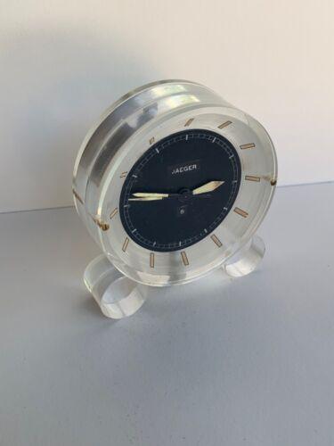 Vintage Jaeger LeCoultre desk clock Swiss made