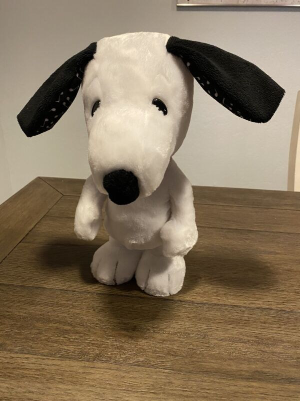Snoopy Peanuts Happy Dance Plush Toy Tested And Working Very Cute