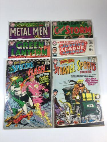 DC comics Silver lot-6 issues:Brave Bold,Green Lantern, Metal Men Justice League