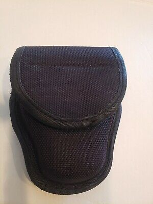 Heros Pride 1052 Nylon Handcuff Button Case Pouch Law Enforcement Duty Belt