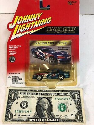 Gold Racing - Johnny Lightning Classic Gold Collection Blue Racing Viper GTS-R ~ 2000