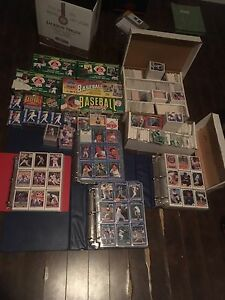 Selling a collection of over 10,000 old baseball cards St. John's Newfoundland image 1