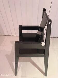 Ikea wooden high chair