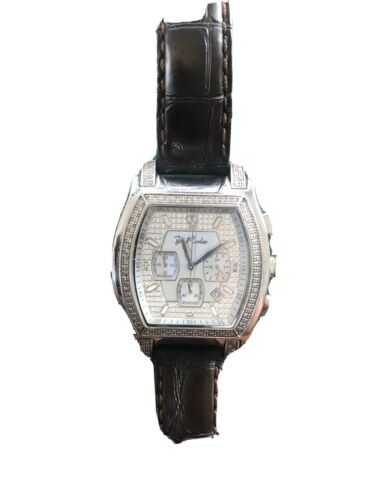 Joe Rodeo Diamond Watch Men - $130.00