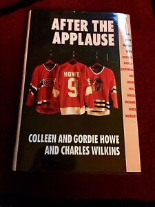After the Applause - signed by Gordie Howe