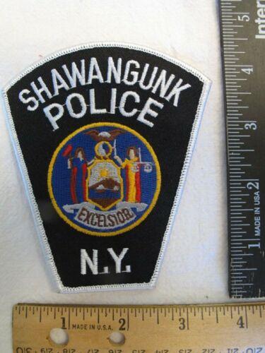 Vintage Shawangunk New York NY Police Shoulder Patch / new / blue lives matter