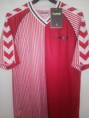 DENMARK 1986 originals BNWT camiseta shirt trikot maillot maglia hummel