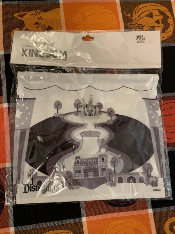 D23 Expo 2019 D23 Walt Disney Kingdom Special Edition Pin Flag NWT