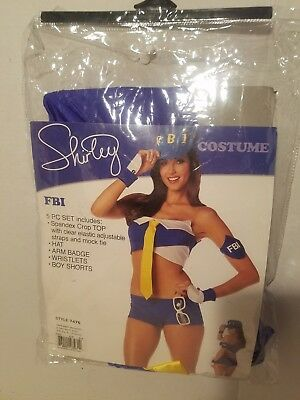 Sexy Cop Police Officer Babe Hottie Halloween Costume Outfit Adult Women Small