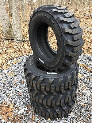 4 New Galaxy Xd2010 10-16.5 Skid Steer Tires For Bobcat Others-10x16.5 -10 Ply
