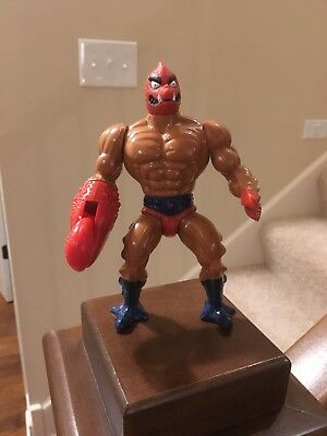 MOTU HE-MAN VINTAGE MATTEL CLAWFUL RARE ACTION FIGURE TOYS COLLECTIBLES 1981