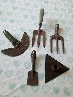 Vintage Garden Tools No Handles