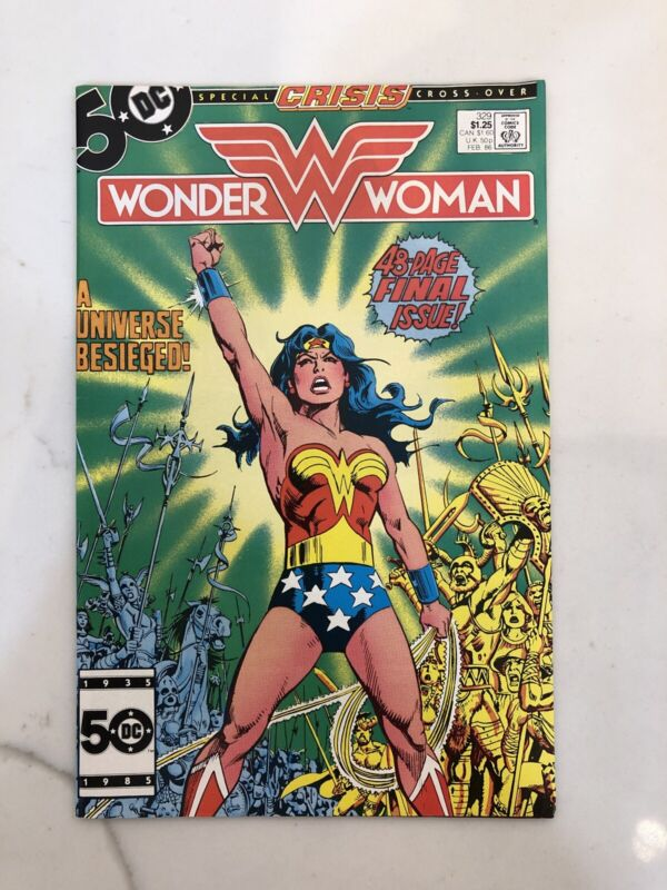 Wonder Woman # 329 - Last issue NM- Cond.