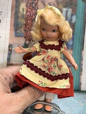 Vintage Nancy And Storybook Doll Goldilocks