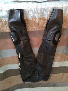 Joe Rocket leather motorcycle pants