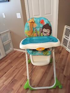 High chair fisher price precious planets