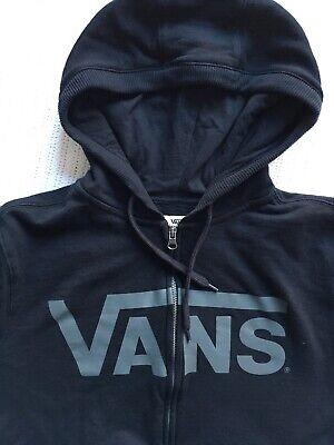 Men's Vans Black Hoody / Sweater  Size S