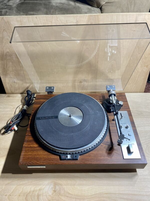 Rare Vintage Concept 2QD Direct Drive Turntable (Japan) With AC Cord #97380007