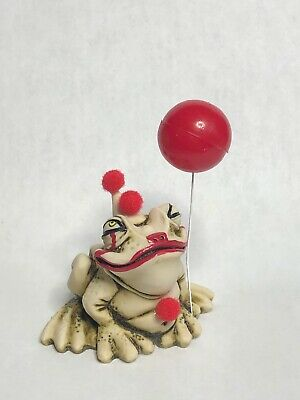 Neil Eyre Halloween evil Clown Pennywise IT inspired Tree frog red balloon