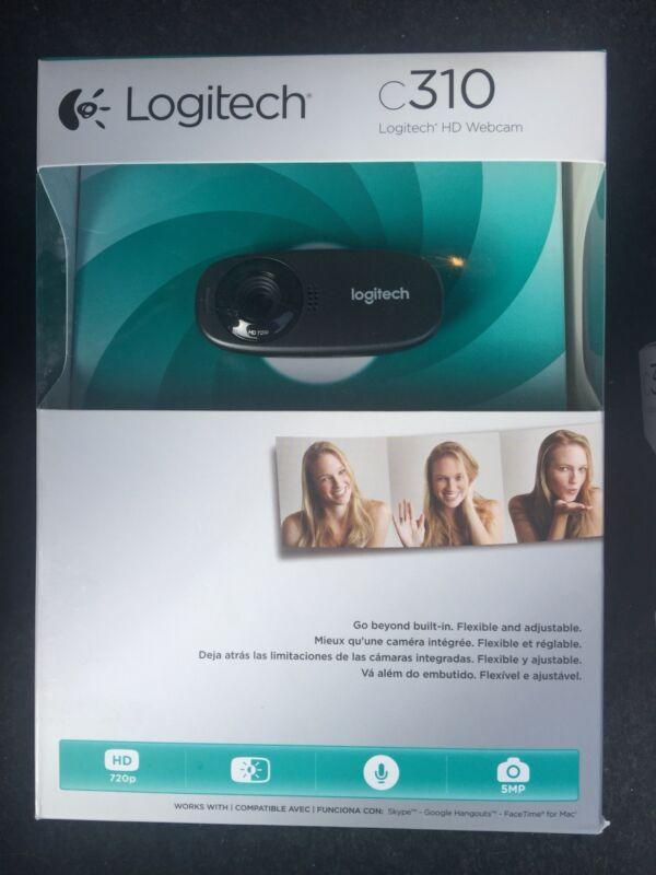 Logitech C310 Webcam Black 960-000585