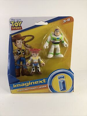 IMAGINEXT Toy Story 4 Buzz Lightyear and Jesse Figure Pack