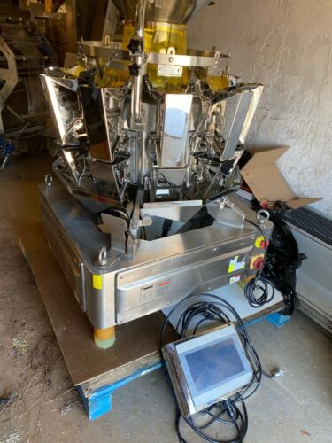 2018 Serbas TY-M10L0.8 VFFS Filling Multi-Head Packaging Weigher Bags Pouches
