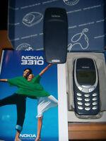 Cellulare Nokia 3310 Colore Blu Originale Perfettamente Funzionante + Batt.nuova - nokia - ebay.it