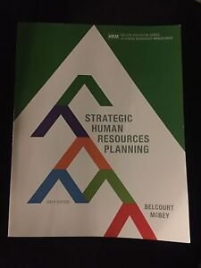 Strategic Human Resources Planning 6th Edition
