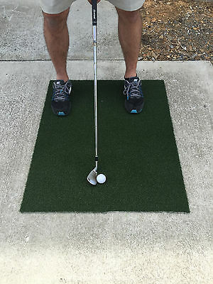 Backyard Golf Mat 2'x3' Pro Residential Practice Golf Mat With Foam Pad