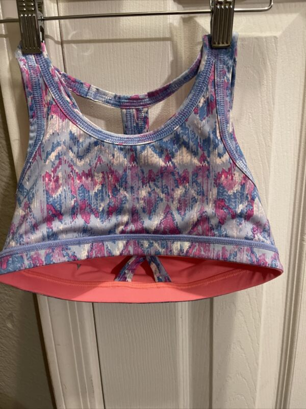Ivivva Sports Bra size 10 multi color  girls