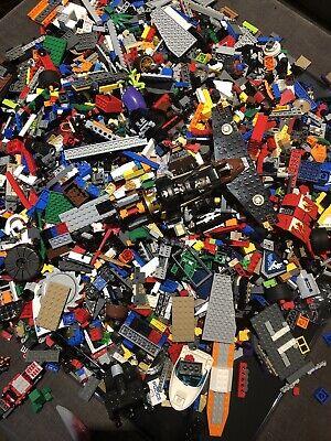 Original lego bundle job lot 1kg With 2 Figures And Other Assortments
