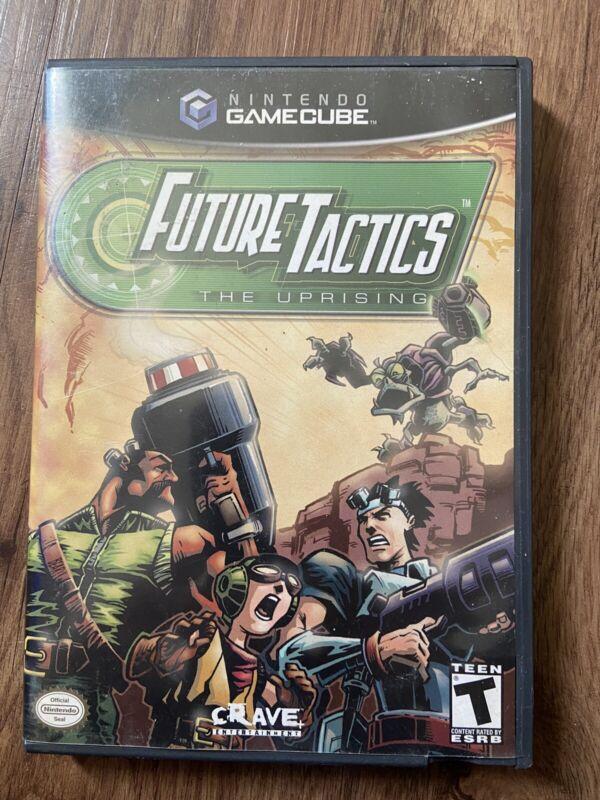 Future Tactics: The Uprising (Nintendo GameCube, 2004) TESTED/CIB *Final Price*