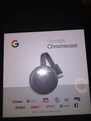 Google Chromecast 3rd Genration Media Streamer - Charcoal