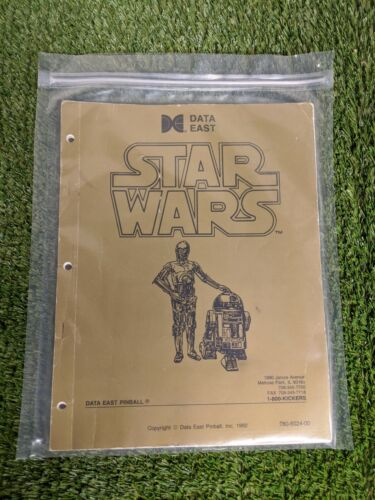 Star Wars by Data East Pinball Manual