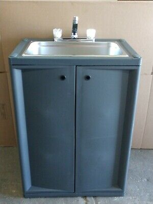 Portable Large Bowl Sink With Hot Water Assembled With Nsf Parts