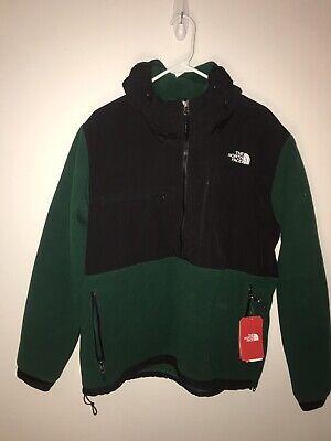$179 The North Face DENALI Men's Hooded Fleece Anorak Jacket Sz M