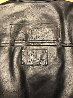 Harley Davidson Willie G 97097-16VM Limited Edition Motorcycle Leather Jacket XL