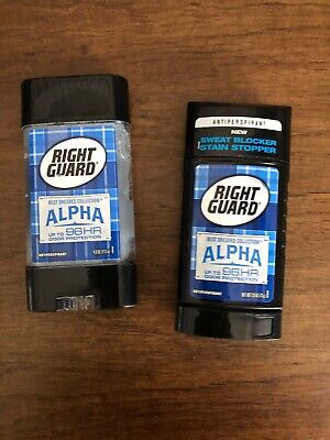Right Guard Best Dressed Collection Anitperspirant Deodorant Solid and one