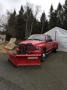 2004 Dodge Ram Cummins diesel with plow