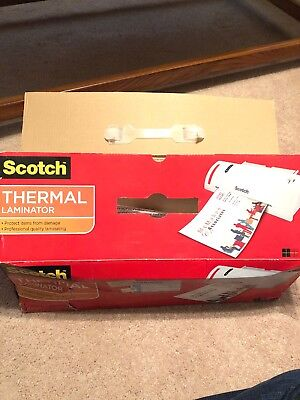 Scotch Thermal Laminator Model Tl901