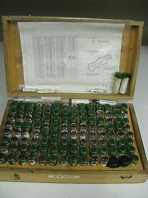 Spline Measuring Wires - Sizes 1 -100 - In Case - Fn9