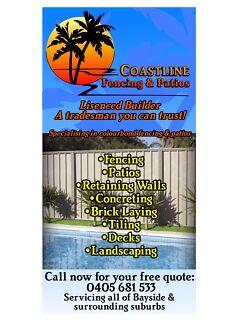 Coastline Fencing & Patios Broadbeach Waters Gold Coast City Preview