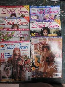 Dolls and Bears Magazines with Patterns Riverglades Murray Bridge Area Preview