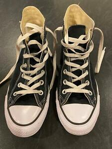Converse All Star Hi Top Sneakers Black, Women's size 8