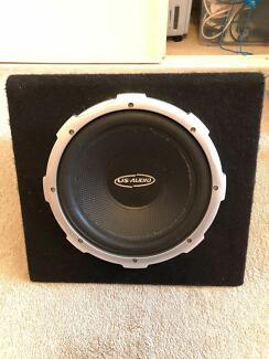 "US Audio 12"" 600W Boxed Subwoofer"