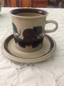 Arabia teacup and saucer set Yarralumla South Canberra Preview